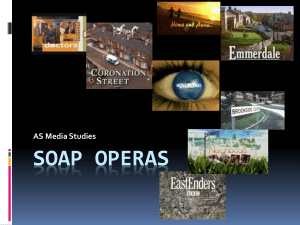 Soap Operas - aslevelmedia