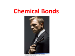 Chemical Bonds - Bremen High School District 228