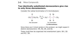 5-4 Meso Compounds PPT