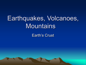 Earthquakes, Volcanoes, Mountains Myths