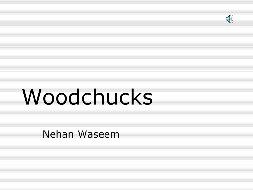 woodchucks maxine kumin