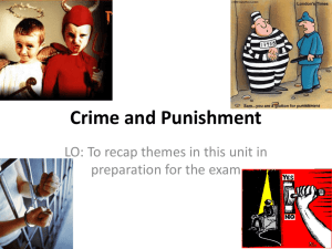 Crime and Punishment - The Grange School Blogs