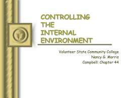 ANIMAL FORM & FUNCTION - Volunteer State Community College