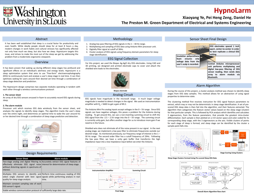 Senior Design Poster - Department of Electrical and Systems