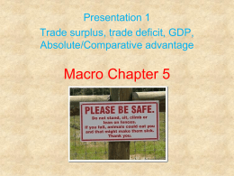 Macro Chapter 5- presentation 1 comparative advantage.pp