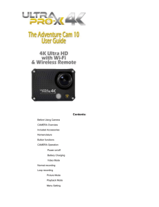Click here to the Adventure Cam 10 Manual in Word Format