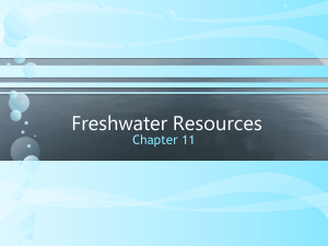 freshwater resources 2014 topic 3 ppt.