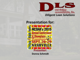 DLS Servicing Consultants, LLC
