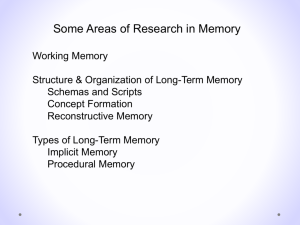 Areas in psychology in which you could do research