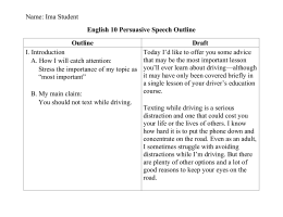 sample complete persuasive speech outline