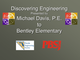 Discovering Engineering Presented