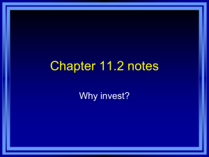 Chapter 12.2 notes - Effingham County Schools