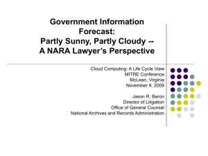 Cloud Law Presentation