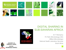 Digital sharing in Sub-Saharan Africa