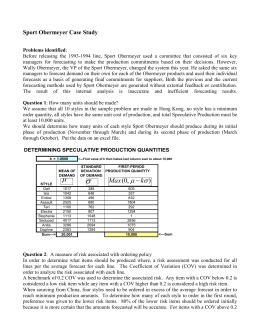 sport obermeyer case analysis
