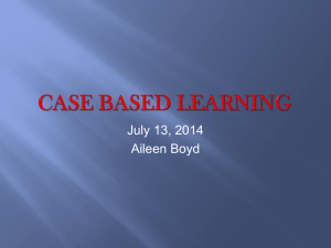 File - Case Based Learning