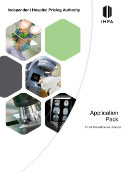 Application Pack* APS6