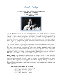 2014 MLK scholarship application FINAL.doc
