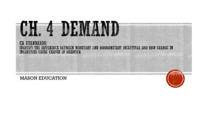 Ch. 4 Demand - Mason Education Home Page