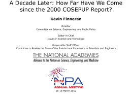 presentation - The National Academies