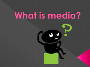 Media, Persuasion and Ad Deconstruction