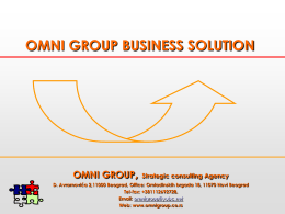 OMNI GROUP BUSINESS SOLUTION