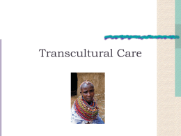 Transcultural Care