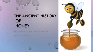 The History of Honey - The Humble Bee Honey Company