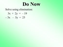 9R Elimination w Multiplication - MrNappiMHS