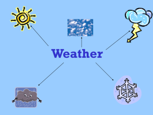 Weather and Climate Information PPT - Brockley-4