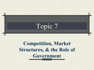 Topic 7-Market Structure Notes 09