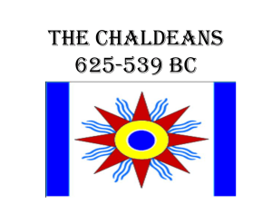The Chaldeans - Barrington 220