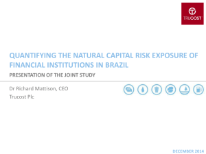 natural capital accounting