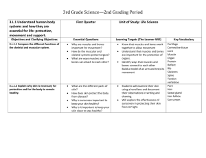 Third Grade Science- Second Quarter