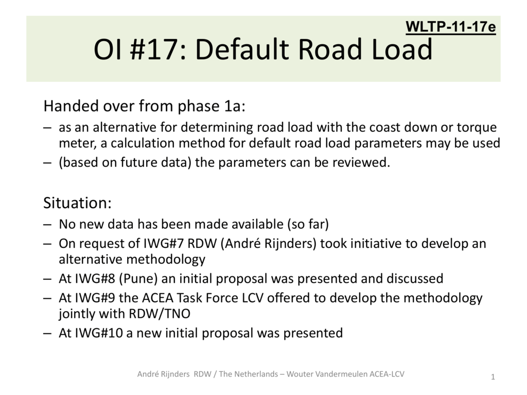 WLTP-11-17e - Default Road Load met…