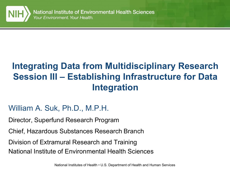 Big Data At NIH