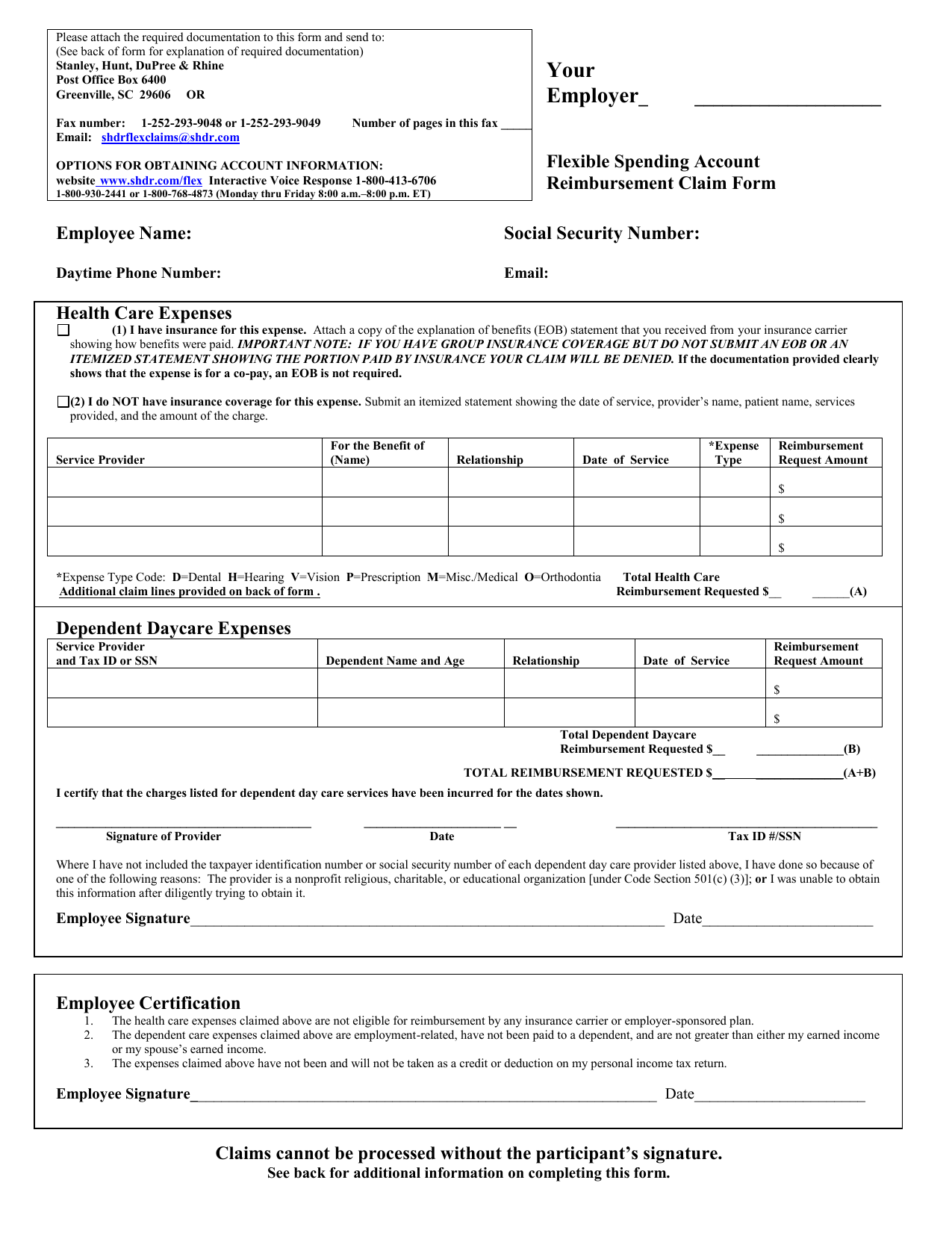 day care tax id number