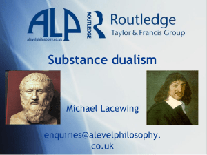 Substance dualism