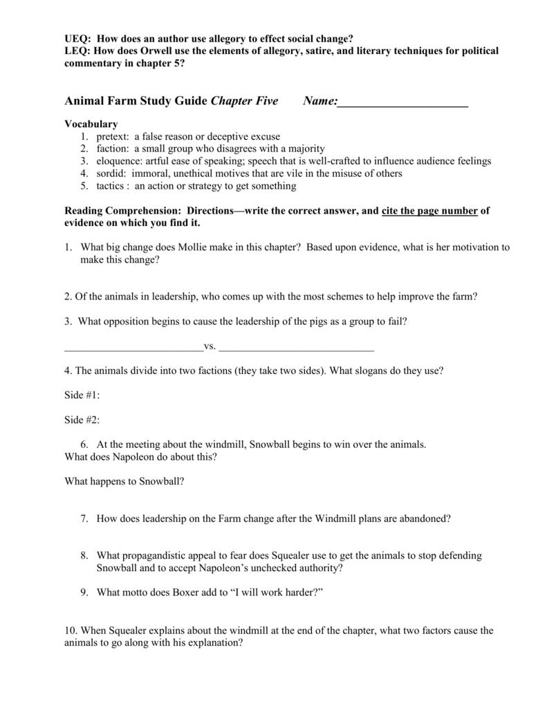 Af Chapter 5 Study Guide