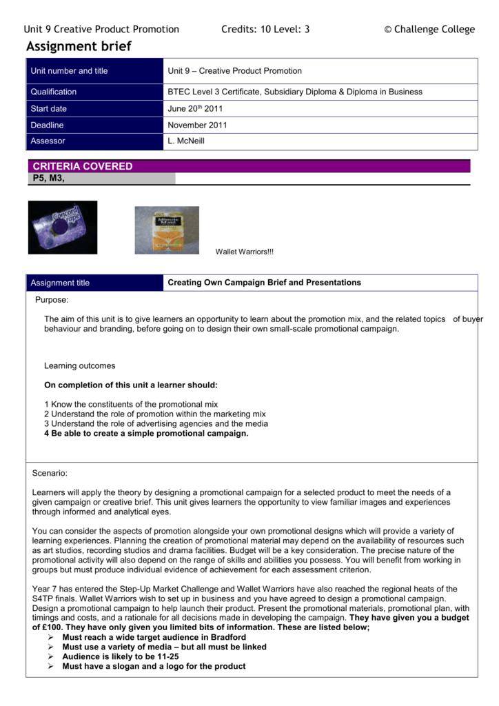 Microsoft Word Document Unit 9 Assignment