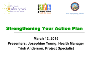 Strengthening Your Action Plan Presentation