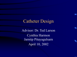 Catheter Design - Research