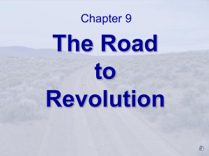 The Road to Revolution - Texas