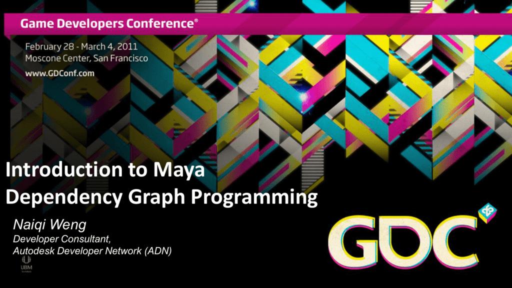Introduction to Maya Dependency Graph Programming