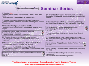 poster - Manchester Immunology Group