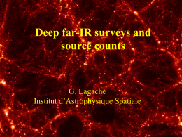Deep far-IR surveys, and source counts