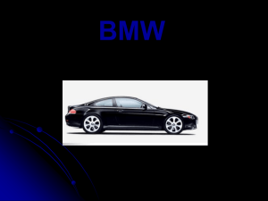 BMW - Dickinson State University