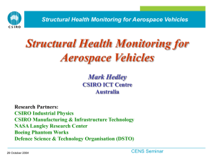 Structural Health Monitoring for Aerospace Vehicles