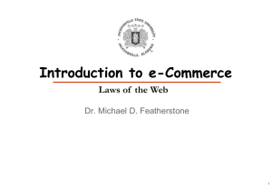 Laws of the Web