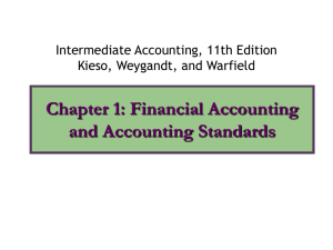 Chapter 1: Financial Accounting and Standards